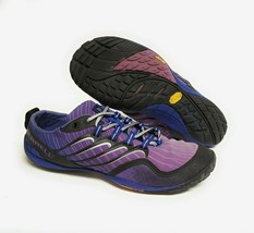 Merrell Lithe Glove Purple Womens Size 8 Vibram Barefoot Minimalist Running Shoe - $37.95
