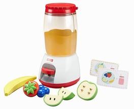 Toy Blender Smoothie Maker Preschool Toddler Kids Kitchen Set Play Acces... - $20.55