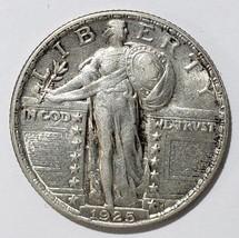 1925  STANDING LIBERTY QUARTER COIN Lot # E 310