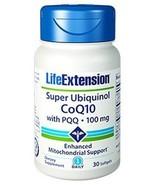 3 Bottles Life Extension Super Ubiquinol CoQ10 with PQQ 100 mg heart hea... - $81.31