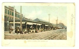 French Market Undivided Back Postcard New Orleans Louisiana - $11.88