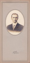 Samuel Clifford Murray Cabinet Photo - Lincoln Academy, Maine, 1913 Class - $17.50