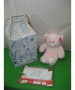 Pink Plush Bear Build-A-Bear Workshop Original Tags & Birth Certificate ... - $13.98
