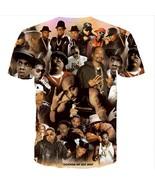 2018 New Women Men Fashion 3D t shirt Tupac Shakur 2Pac t-shirt hip hop ... - $27.54
