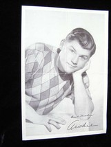 Archie Comics Live Action Archie Actor Photo Printed On Paper 1960s - $14.99