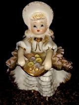 Vintage Geo. Z. Lefton Bloomer Girl Figurine - $20.00