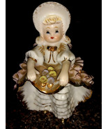 Vintage Geo. Z. Lefton Bloomer Girl Figurine - $10.00