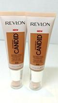 2Revlon PhotoReady Candid Natural Finish Anti-Pollution Foundation Cappu... - $11.39