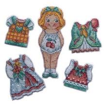 Mini Cross Stitch Embroidery Kit Doll Girl - $13.51