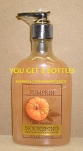 Bath Body Works SWEET CINNAMON PUMPKIN Nourishing Hand Soap Pumpkin Butt... - $12.00