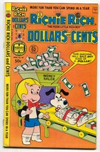 Richie Rich Dollars and Cents #85 1978- Harvey comics FN - £15.65 GBP