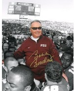 Bobby Bowden signed Florida State Seminoles 8x10 Photo Final Game Carryo... - $33.95