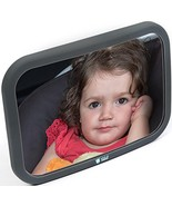 Baby Car Mirror for Rear Facing Infant- Back Seat Shatterproof Mirror wi... - $16.57