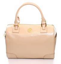 Tory Burch Robinson Satchel Bag Dark Sahara Pink Medium Handbag - $432.49