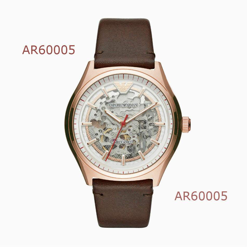 Emporio Armani Men's 'Dress' Japanese Automatic Casual Watch AR60005 - $192.60