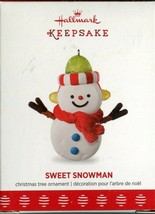 2017 Hallmark Keepsake Ornament - Sweet Snowman - VIP Member Exclusive L... - $5.93