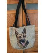 German Shepherd Dog Tapestry TOTE BAG Robert J May Satchel  - $28.70