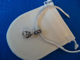 NEW Disney Princess Theme Charm - Cinderella's Tiara Crown silver plate ... - $9.99