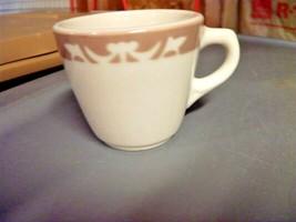 Syracuse 97B Cup Mug Restaurant Style Tan DSM Rim LOT of 4 - $23.36