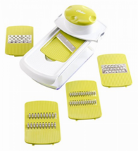 Oster Kitchen Artistry Slicing and Grater Station, Lime Green New  - $25.99