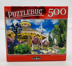 """Leavenworth Washington Bavarian Pavillon"" ~ 500 Pc Jigsaw Puzzle - $4.46"