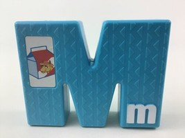 Tyco Sesame Street Textured Alphabet Replacement Letter M Vintage 1994 - $8.86