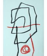 MIRO LITHOGRAPH w/COA exclusive gift of UNIQUE 1972 litógrafo Joan Miró ... - $125.43