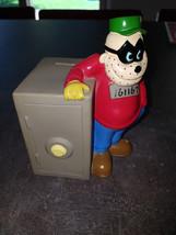 Extremely Rare! Walt Disney Scrooge McDuck Beagle Boy Old Vault Piggy Bank - $118.80