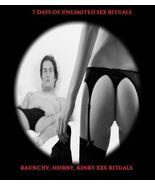 7 DAYS OF UNLIMITED SEX RITUALS NAUGHTY KINKY RAUNCHY XXX DRAW 2 U Genui... - $69.00