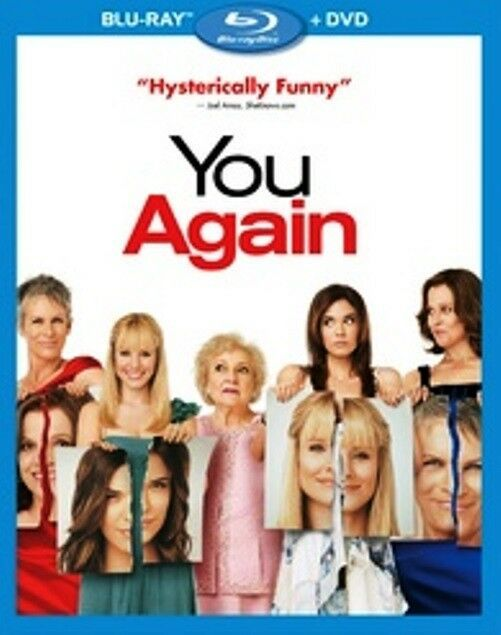 You Again (2011 Blu-ray/DVD, 2-Disc Set, Widescreen) BRAND NEW/FACTORY SEALED