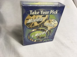 Simply Fun Take Your Pick Movies Music & More Card Game Factory-Sealed B... - $39.99