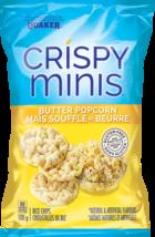 Quaker Crispy Minis Chips Butter Popcorn 10 bags 100g each Canadian  - $69.99