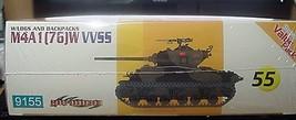 Cyber-Hobby 1/35 kit 9155 WW2 USA M4A1 [ 76] W VVSS Sherman Tank  w/bonus image 3