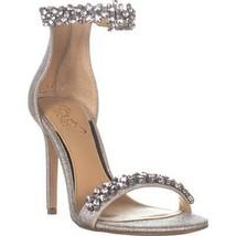 Jewel Badgley Mischka Ramira Ankle Strap Sandals, Silver Glitter, 6 US - €40,81 EUR