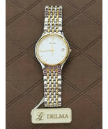 Delma SWISSMADE Quartz Movement ladies watch Two-tone vintage BRAND NEW - $599.00