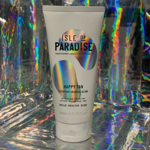 NEW! Straight From Isle Of Paradise FULL 200mL Happy Tan Everyday Gradual Glow