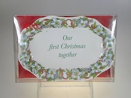 Spode Holiday Sentiment Tray Mini Platter(Our 1st Christmas Together) NE... - $8.38