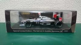 1:43 Suzuka Legend Spark Tyrrell Honda 020 Japanese GP 1991 Satoru Nakajima - $509.45