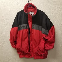 Columbia Bugaboo Men's Coat XL Red Black Zip Up Jacket Coat Shell Only N... - $53.04