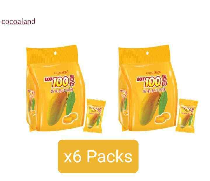 Lot 100 Cocoland Manggo Flavoured Gummy Candy  150g x 6 packs ship by DHL - $65.60