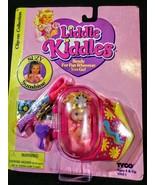 NIB 1994 LIDDLE KIDDLES DOLL TYCO BLACK CLIP ONS SUZY SUNSHINE ink Hair - $23.71