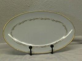 "Noritake Laurel 14 1/4"" Oval Serving Platter 5903 Japan Replacement  - $9.89"