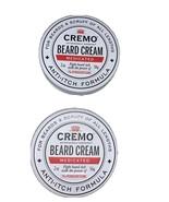 2 Cremo Beard Scruff Medicated Cream - 2oz Beard Cream Anti Itch Formula... - $7.91
