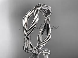 platinum rope wedding band RP898G - $685.00