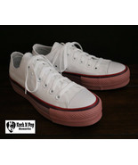 Converse X O.P.I CTAS Lift Ox Canvas 566557C Pure Silver/White/Rust Pink... - $44.98