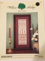 Willow Ridge Designs Seasons Sampler Bk 9 Counted Cross Stitch Pattern S... - $6.29