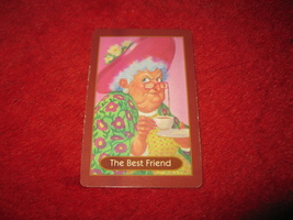 1993 - 13 Dead End Drive Board Game Piece: The Best Friend Portrait Card - $1.00