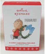 Hallmark Keepsake Peanuts Gang A Comfy Christmas For Linus 2017 Ornament - $16.78