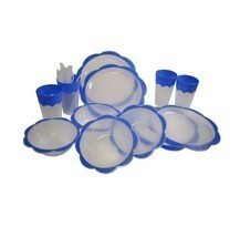 Cuisine Collection 24 Piece Plastic Picnic Set - $15.42