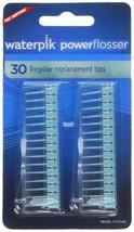 60 Pcs Waterpik Power Flosser Regular Replacement Tips Daily Disposable Tips US - $15.48